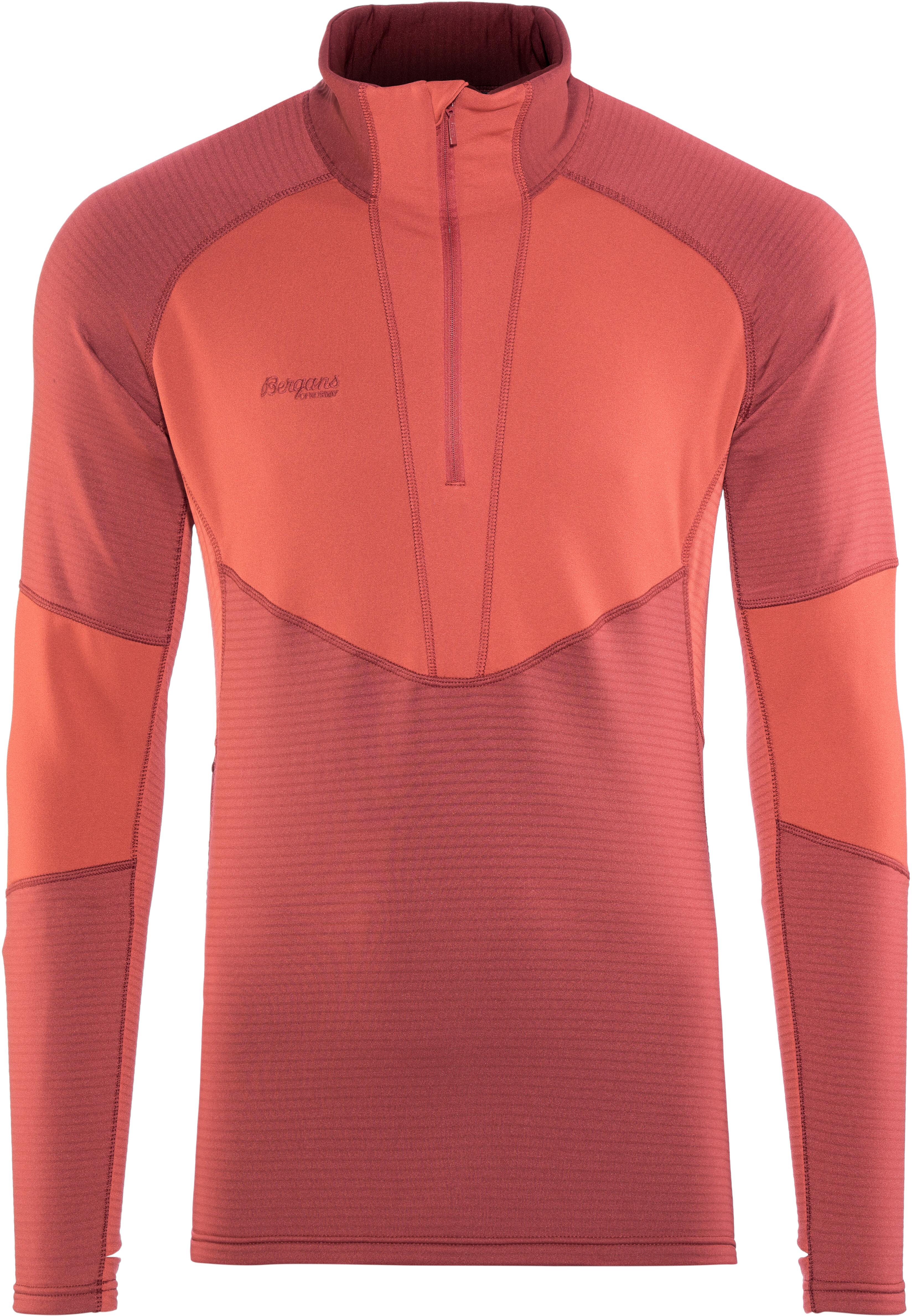 e9838af56a Bergans Roni - Camiseta de manga larga Hombre - rojo